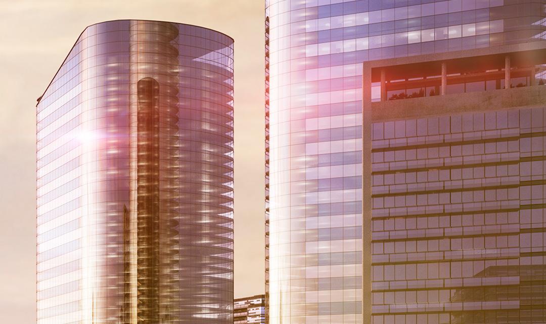 Property or high-rise building symbolizing Consilium's building segment