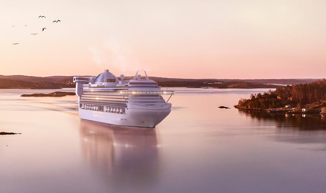 Cruise ships symbolizing Consilium's marine segments