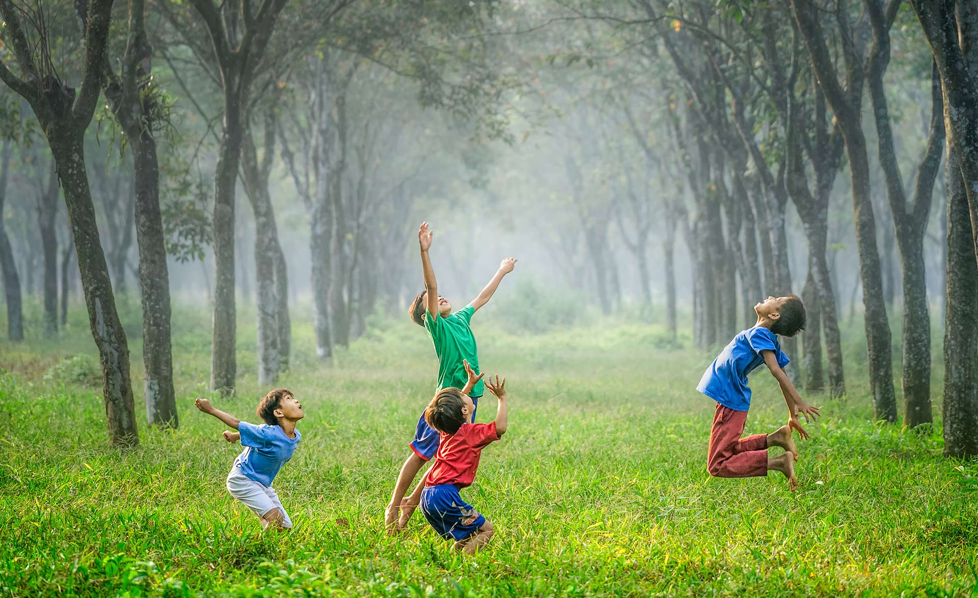 CSR: Children playing in the forest
