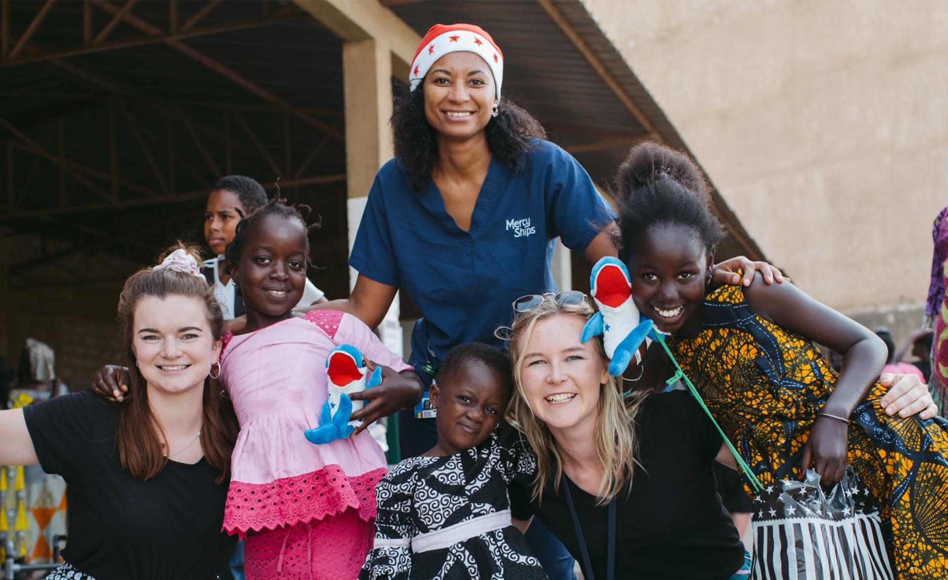 Daniela Neves switched to volunteer work for the Mercy Ships Foundation in Dakar