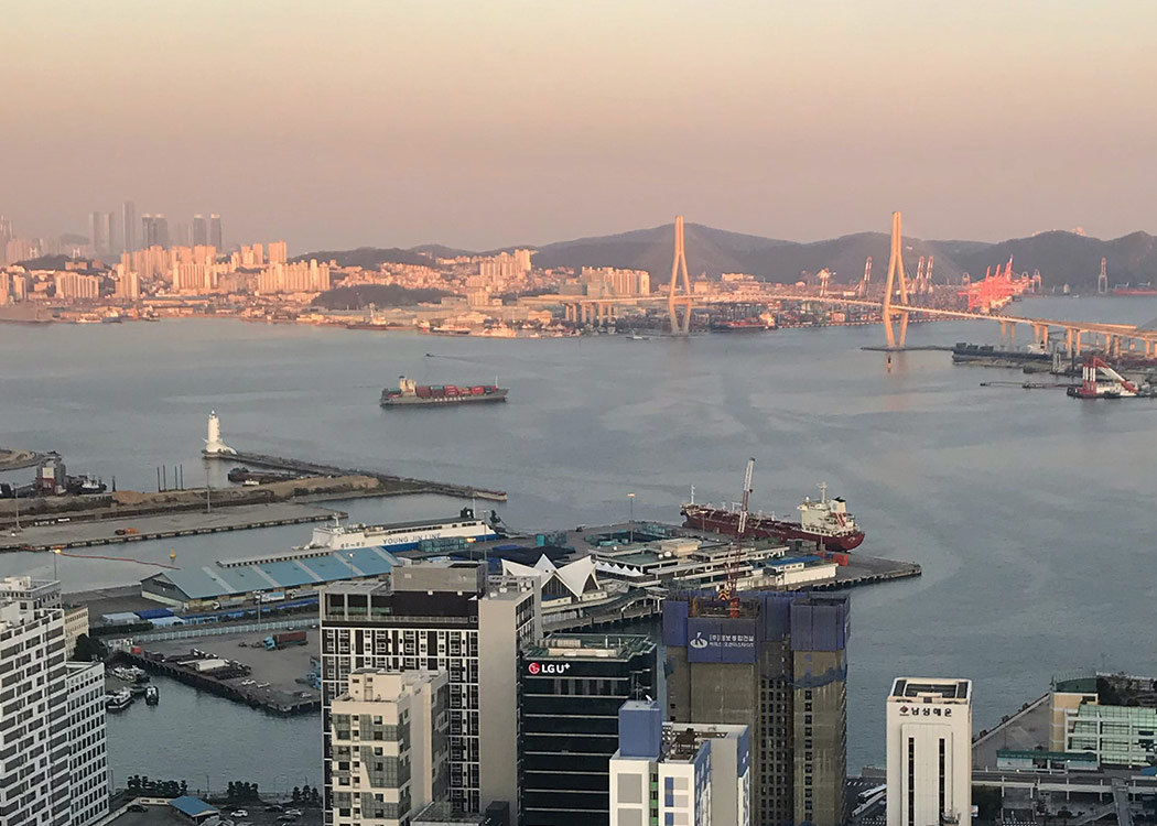 Port of Busan, South Korea